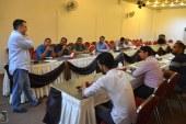 مؤسسة الحكمة تنظم دورة التحرير والتصوير الصحفي لمؤسسة اليتيم الخيرية