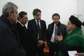 مدير مركز الحوار يلتقي محافظ مدينة استي الايطالية والوفد المرافق له