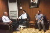 إدارة ملتقى رؤى الفكري تزور مكتبة الإمام الحكيم العامة في النجف الأشرف