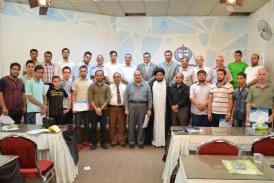 اختتام دورة (التغيير السلوكي) في مؤسسة الحكمة بقيادة المدرب منجد حميد
