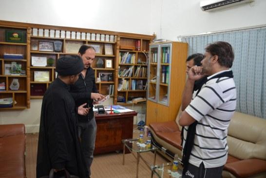 وفد من شيعة الهند في ضيافة مؤسسة الحكمة للثقافة الإسلامية في النجف الأشرف