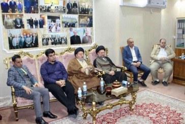 سماحة السيد صالح الحكيم يزور مركز الرافدين للحوار