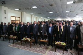"""السيد صالح الحكيم يشارك في مؤتمر """"الاعتدال الديني والسياسي طريقنا إلى السلم الأهلي والتقدم الحضاري"""""""