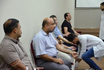 بمبادرة إنسانية.. مؤسسة الحكمة للثقافة الإسلامية تُقيم حملة للتبرع بالدم في النجف الأشرف