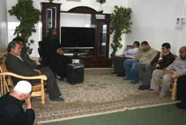 مؤسسة الحكمة تقيم مجلس عزاء في ذكرى استشهاد الإمام الحسن العسكري(ع)