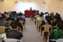 محاضرة للسيد علاء الموسوي في مؤسسة الحكمة للثقافة الإسلامية