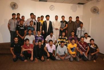 الأمين العام للمؤسسة في لقاء مع الطلبة