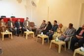 مركز الحوار في مؤسسة الحكمة للثقافة الإسلامية يستضيف نخبة من صحفيي النجف الأشرف وإعلامييها