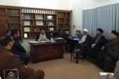 مركز حوار الحكمة يستقبل الدكتور علي الشيخ والوفد المرافق