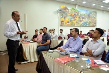 بالصور.. انطلاق دورة (المفاهيم الإعلامية الحديثة) في مؤسسة الحكمة بقيادة الإعلامي راجي نصير